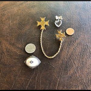 Avon brooch/pendant 1980s, 2 pins 1980/90s VTG